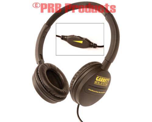 Garrett Metal Detectors Headphones Volume Control Deluxe Stereo Garet Garret