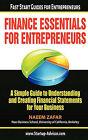 Finance Essentials for Entrepreneurs by Naeem Zafar (Paperback / softback, 2010)