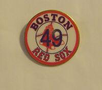 The Boston Red Sox Tim Wakefield #49 49 Baseball Pin NIP Sports