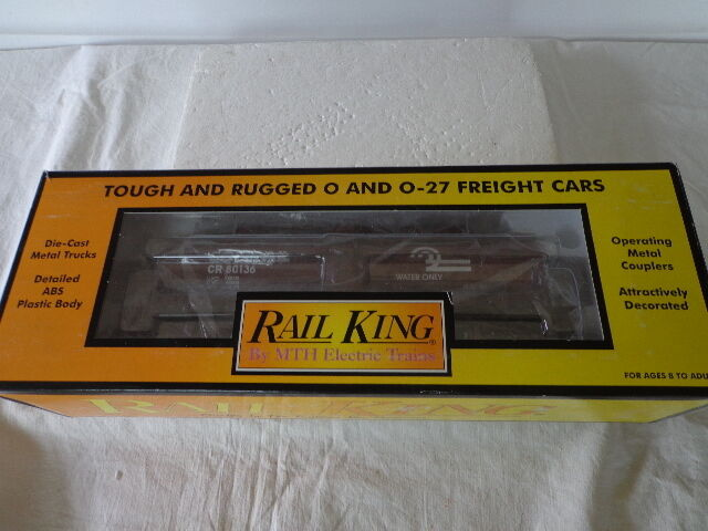 RAIL KING BY MTH  O   027 GAUGE CONRAIL THREE DOME TANK CAR