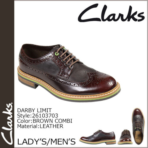 Limit Uk Clarks Smart Combi Trendy Lea Men Darby G 9 8 Brown FEEqwpTSx