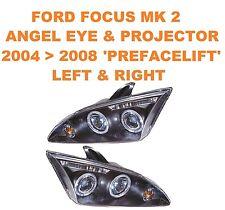 Ford Focus Mk 2 Ojos de Ángel & Proyector Faros 04 > 08 sólo
