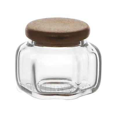 Dollhouse Miniatures 2019 Latest Design Dolls House Miniature Small Slim Hexagonal Glass Jar