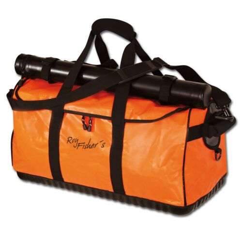 Roy Fishers Fly /& Travel Fliegenfischer Tasche inkl Transportrohr