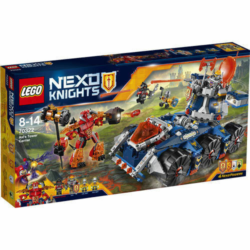 LEGO NEXO KNIGHTS IL PORTA-TORRE DI AXL - LEGO 70322