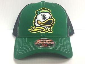 super popular 8fd7e 15e11 Image is loading Oregon-Ducks-Cap-Zephyr-Adjustable-Snapback-Staple-Trucker-