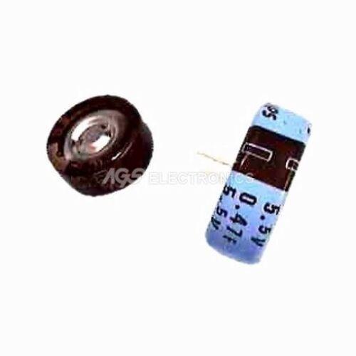 EPF 0.1F ELETTROLITICO BACKUP PUFFER 5.5V PASSO 5mm 0.1F