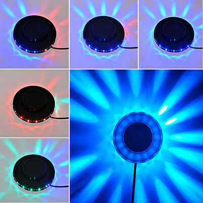 Rotary Stage Lights Colorful LED Light for disco ballroom KTV Bar Evening Club