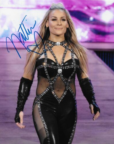 NATALYA WWE DIVA SIGNED AUTOGRAPH 8X10 PHOTO #2 WRESTLING INK COA