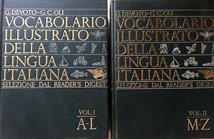 DEVOTO-OLI-VOCABOLARIO-ILLUSTRATO-DELLA-LINGUA-ITALIANA-LE-MONNIER-1967