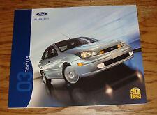 Original 2003 Ford Focus Sales Brochure 03 ZX3 ZX5 ZTS ZTW LX SE