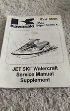 kawasaki 750ss 750 ss jet ski owners manual operating instructions rh ebay com Kawasaki Jet Ski 750 SS Kawasaki 750 XI SS