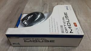 New Open Box MICRO Innovations Wireless Optical Mouse w/RF Receiver/Instructions