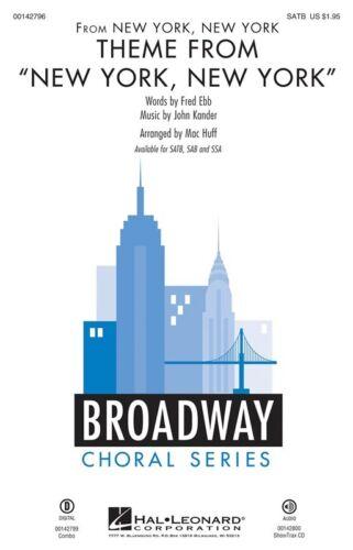 """SSA Piano Accompaniment Sheet Music SSA New York/"""" Theme From /""""New York"""