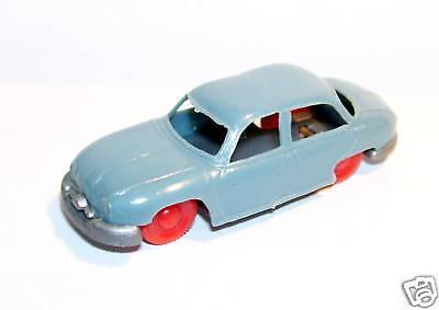 MICRO JOUEF HO 1//86 1//87 PEUGEOT 403 BLEU CLAIR roues rouge