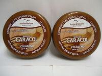 2 X Baba De Caracol Snail Extract Collagen Cream Anti Ageing Acne Stretch Mark