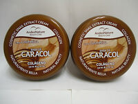 2 X Jar Snail Cream Gel Baba Crema De Caracol 10 Oz Acne Cellulite Wrinkles
