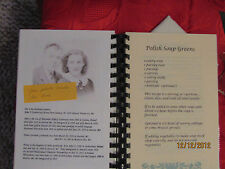 Polish Family Recipes & Traditions Cookbook ...Personalize  FREE shipping in US