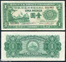 TIMOR 1 Pataca  1945  Pick 16   MBC+ / VF+
