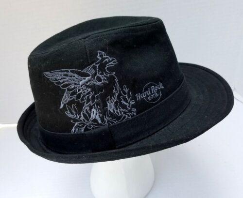 Hard Rock Hotel Chicago Fedora Hat Embroidered Sti