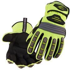 Black Stallion Hi Vis Spandex Extreme Winter Work Gloves Large
