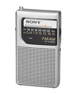 Top 6  Sony Portable AM/FM Radios