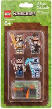 LEGO Minecraft - 853610 Skin-Pack / LEGO Minecraft Hüllen Set 2 - Neu OVP