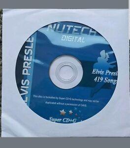 ELVIS-SCDG-KARAOKE-DISC-NUTECH-419-SONGS-ON-ONE-DISC