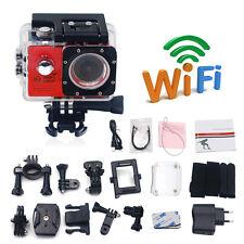 Full HD 1080P WiFi Sports Action Camera Waterproof Travel Helmet Video Camcorder
