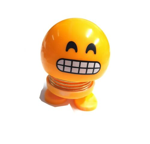 Car EMOTICONS Creative Toy Spring Shaker Head Doll Bounce High face