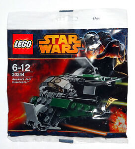 Lego-Star-Wars-Anakins-Jedi-Interceptor-30244-Anniversaire-Jouet-Neuf-Cadeau