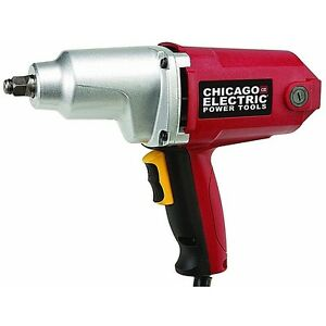 Lightweight High Power 7 AMP 1/2in 230 ft lb Torque 120V Electric Impact Wrench