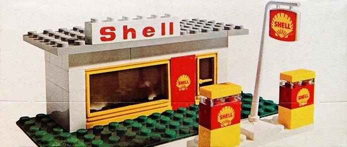 Nuevo LEGO Estación de Servicio ciudad Clásico 648 Sellado  mundial envío Legoland