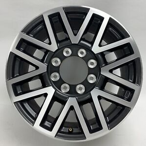 Ford-F250-F350-20-Black-Machined-Factory-OEM-Wheel-Rim-10104-1723