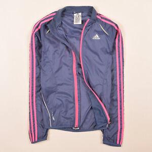 Details zu Adidas Damen Jacke Jacket Gr.34 Formotion Response Trainingsjacke Blau, 66882