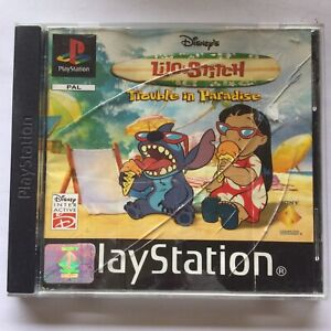 Disney's Lilo & Stitch: Trouble in Paradise PLAYSTATION1 Sony PS1