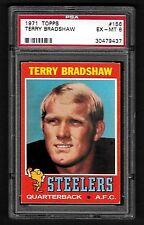1971 Topps #156 Terry Bradshaw ROOKIE **Steelers** PSA 6