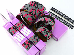 81b2ec02aba Cinelli handlebar tape bar grey black pink camo mtb cork vintage NOS ...