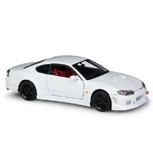 Welly-1-24-Nissan-Silvia-S-15-Diecast-Model-Racing-Car-White-NEW-IN-BOX