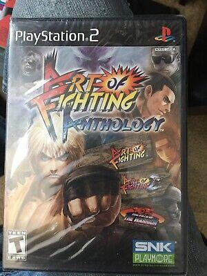 Ps2 Art Of Fighting Anthology Sony Playstation 2 2007 Brand New Sealed Ebay