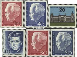 Berlin-West-234-235-236-241-314-315-kompl-Ausgaben-postfrisch-1964-Sondermar