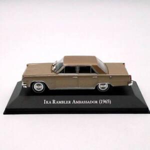 IXO-ALTAYA-Ika-Rambler-Ambassador-1965-Diecast-modelos-1-43-Juguetes-Navidad-Regalos