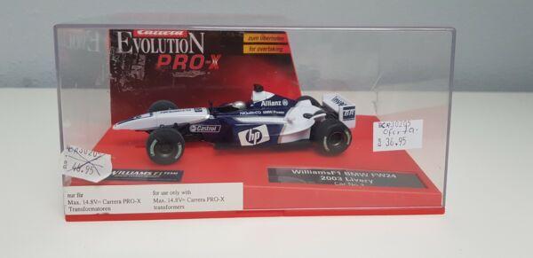 100% Vrai Jj- Williams Bmw Fw24 2003 Livery Num3 Carrera Evolution Pro-x Slot Car Nuevo Bien Vendre Partout Dans Le Monde