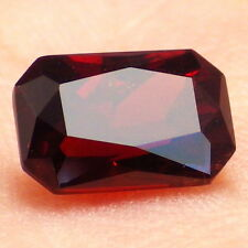 SPESSARTINE GARNET-NIGERIA 2.57Ct CLARITY P1-BEAUTIFUL FIRE RED ORANGE COLOR!