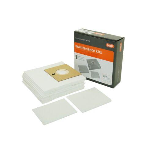 Vax V073 V-073 Polvere Aspirapolvere Sacchetti Pre e Post Motore Kit Filtro 1112618600 ORIGINALI