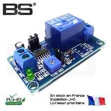 High performance temporisation relay module relais temporisateur 12V 250V 10A Pi