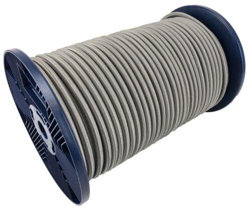 10mm Grau Elastischer Gummizug Seil X 30 Meter Krawatte Unten Weiterer Wassersport