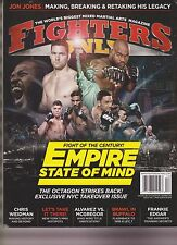 FIGHTERS ONLY MAGAZINE DEC 2016, EMPIRE STATE OF MIND.