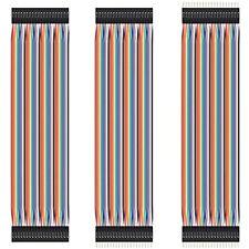 120 Pcs 3x40 Pcs Breadboard Jumper Wires Prototype Board Dupont Free Shipping