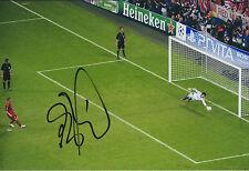 Petr CECH Signed Autograph Photo AFTAL COA Chelsea Goalkeeper Champions League